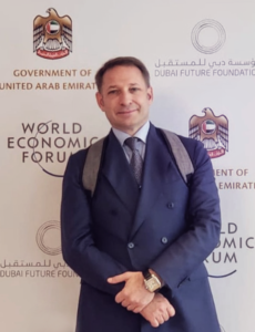 Codewise's Executive Chairman and CEO Dr. John Malatesta at the WEF Annual Meeting of the Global Future Councils in Dubai.
